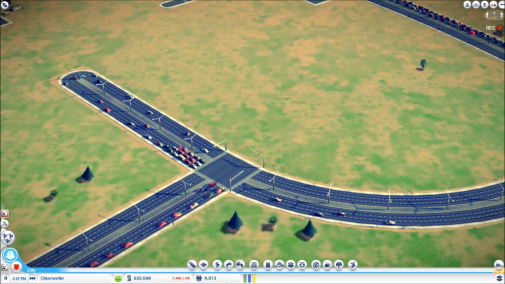 Gamasutra Tommy Thompson S Blog How Traffic Works In Cities Skylines